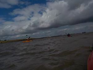 Sonne, Wind und Wellen auf der Elbe
